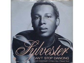 "Sylvester title* Can't Stop Dancing* Disco 7"" Scandinavia"