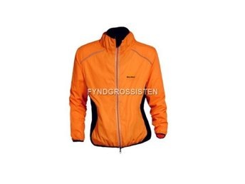 Cykeljacka Outdoor Cycling Jersey Orange Breathable Fri Frak