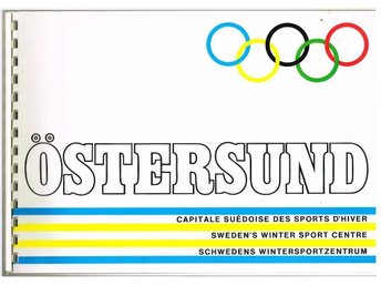 ÖSTERSUND bid for the 1976 OLYMPIC WINTER GAMES