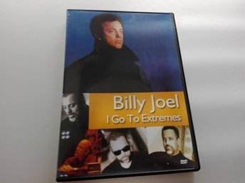 Billy Joel - I Go to Extremes DVD - Regionsfri PAL - We Didn't Start the Fire