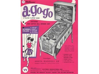 Original flyer Williams A-GO-GO