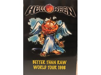 Helloween World Tour 1998 Turné program TOPPSKICK