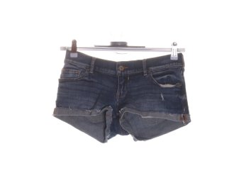 Abercrombie & Fitch, Shorts, Strl: 25, Blå