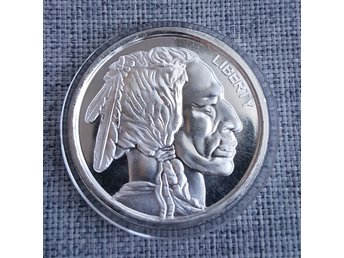 American Buffalo 1 oz Ag High Relief