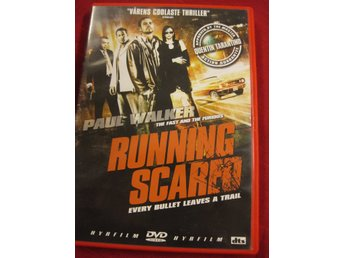RUNNING SCARED - PAUL WALKER - ACTIONTHRILLER - DVD