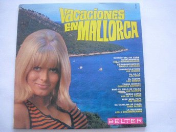 Vacaciones En MAllorca LP Belter records Madrid