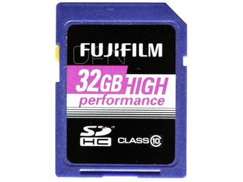 Fujifilm 32GB SDHC card High Performance / Class 10
