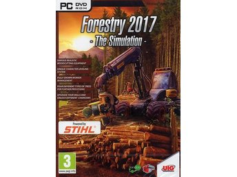 Forestry 2017 - The simulation (PC) Ord Pris 179 kr SALE