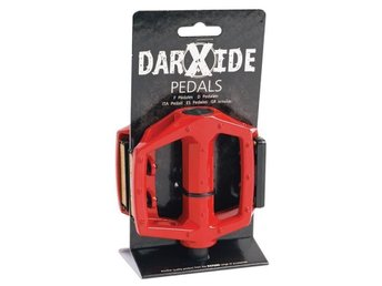 Cykelpedaler MTB/BMX Darxide Pedals 9/16'' - Red