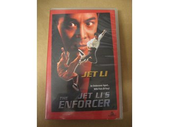 VHS - The enforcer med Jet Li