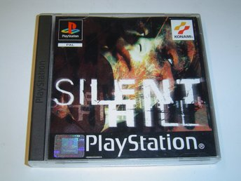 Silent Hill Originalutgåva Sony playstation PAL Komplett