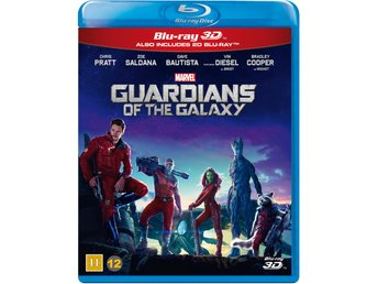 Guardians of the Galaxy 3D+Blu-ray - Ny & Inplastad!