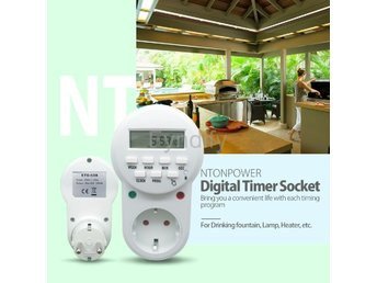 Smart Power Socket EU Plug Digital Timer Switch