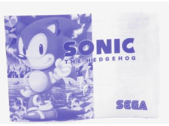 Sonic The Hedgehog (Manual) -  - PAL (EU)