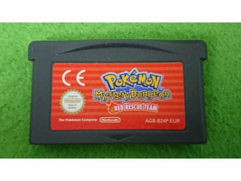 Pokemon Mystery Dungeon Red Rescue Team   Nintendo GBA