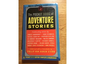 The pocket book of adventure stories - Philip Van Doren Stern  1945