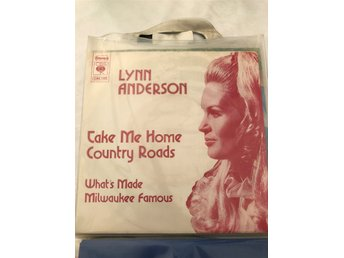 "SINGEL med LYNN ANDERSON "" Take me home country roads"""