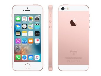 Apple iPhone SE 128GB, rosa guld, rose gold, PERFEKT SKICK