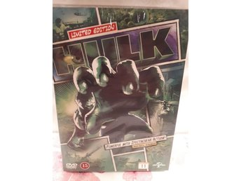 DVD: HULK Comic Book COVER Edition / ERIC BANA / NYTT!!