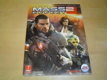 MASS EFFECT 2 GUIDE MICROSOFT XBOX 360 *NYTT*