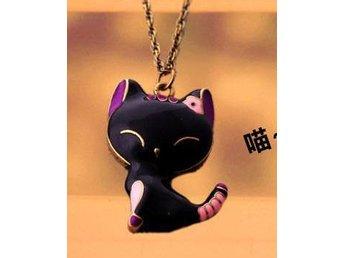 NY!Cute Cat Shape Pendant Halsband  (Wn36)