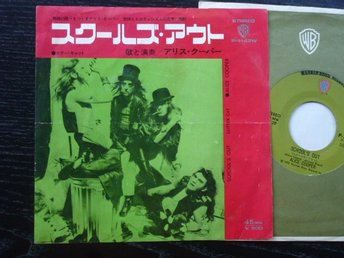 ALICE COOPER . Schools out Warner Japan  -72