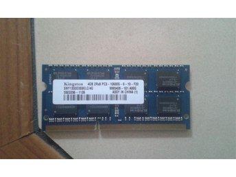 Kingston 4GB DDR3 pc3 10600s so-dimm bärbara - Göteborg - Kingston 4GB DDR3 pc3 10600s so-dimm bärbara - Göteborg