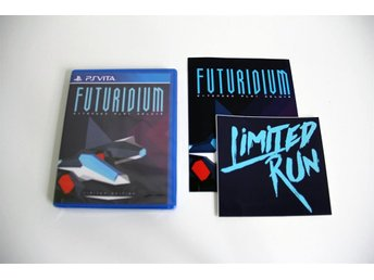 Futuridium EP Deluxe - PS Vita NYTT Limited Run Games