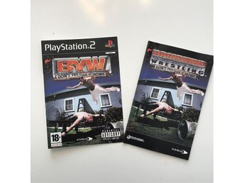 BYW - Dont try this at home / Playstation 2 PS2 (endast fodral)
