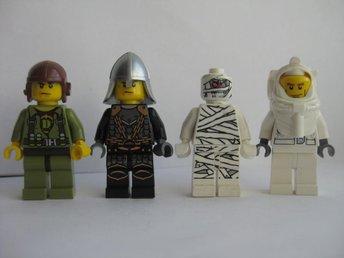 Lego Figurer Figur - 4st Blandade Figurer - LF8-10 - Uddevalla - Lego Figurer Figur - 4st Blandade Figurer - LF8-10 - Uddevalla
