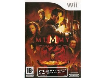 MUMMY THE TOMB OF THE DRAGON EMPEROR (komplett) till Nintendo Wii