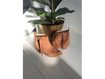 Acne boots, beige mocka - Göteborg - Acne boots, beige mocka - Göteborg