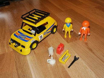 Playmobil rally bil / racebil / art nr 3524