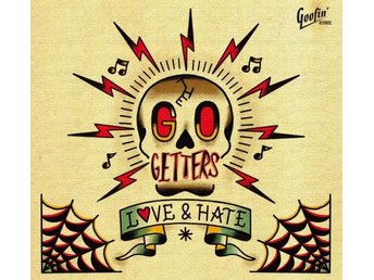 Go Getters: Love & hate (Vinyl LP + CD)