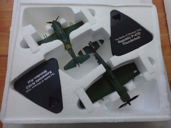 Atlas Duelling Fighter Series - Republic P-47D + Kawasaki Shinden-Kai - 1/72 sca