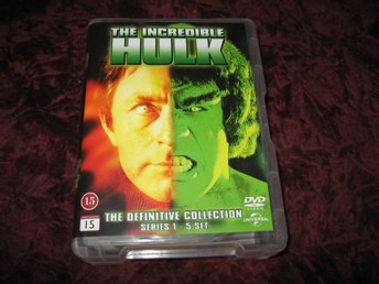 THE INCREDIBLE HULK - THE DEFINITIVE COLLECTION SERIES 1-5 (BILL BIXBY) 23-DISC