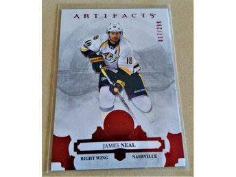 2017-18 UD Artifacts Ruby #18 James Neal /299