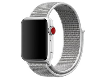 Nylon Loop 42/44mm Apple Watch Armband - (PEARL)
