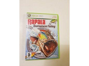 Rapala Tournament Fishing - XBOX 360 (Komplett!)