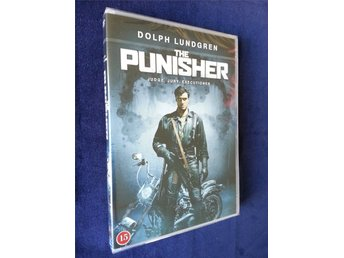 The Punisher (1989) NY SVENSK DVD UTGÅTT - DOLPH LUNDGREN