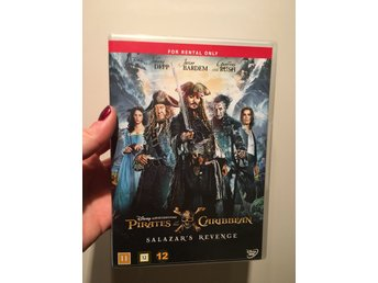 Dvd pirates of the Caribbean Salazar revenge