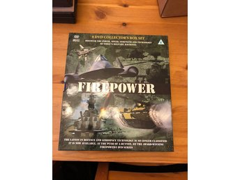 FirePower -8 dvd Collectors Boxset-