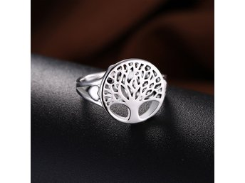 HELT NYTT!! RING TREE OF LIFE 925 STERLING SILVER charms women