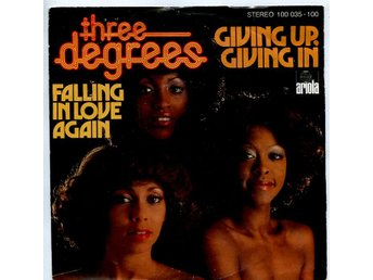 "Three Degrees -Giving up giving in 7"" Arioa Germany 1978"