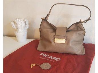 Handgjord väska från Picard i nyskick