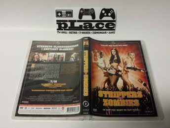 Strippers VS Zombies DVD