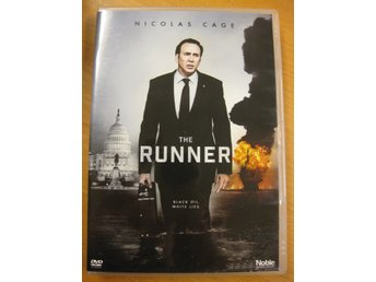 THE RUNNER  -  NICOLAS CAGE - DVD 2015