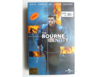 VHS film - The bourne identity