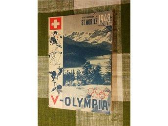 V-Olympia St. Moritz 1948! - Enköping - V-Olympia St. Moritz 1948! - Enköping