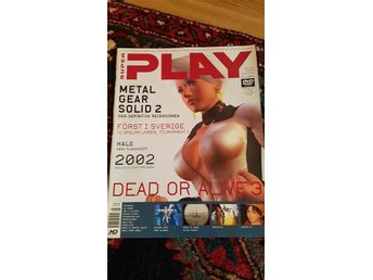 Super play 1 år 2002 metal gear dragon warrior shenmue mfl